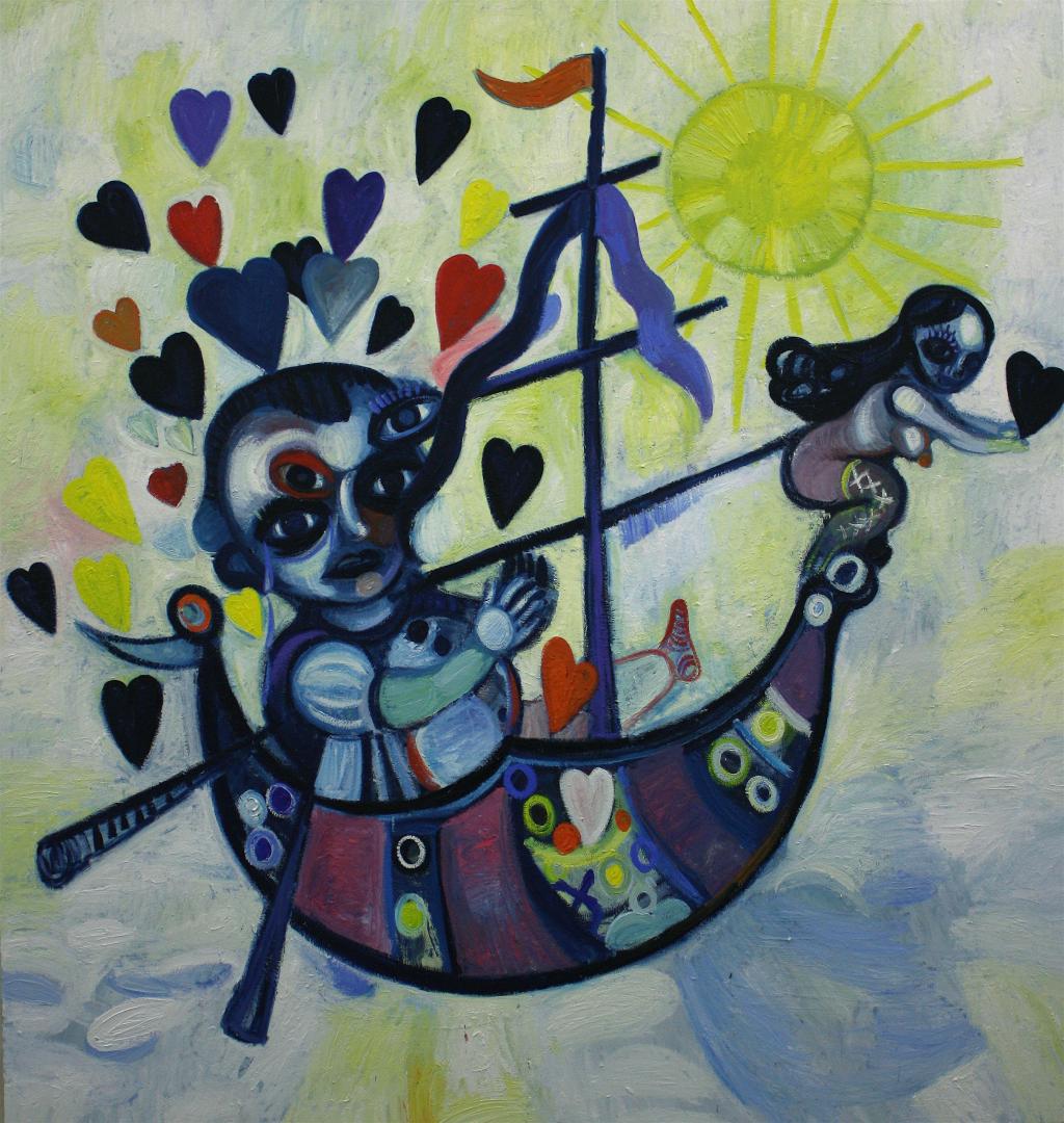 Love boat to nowhere  Gerben Mulder