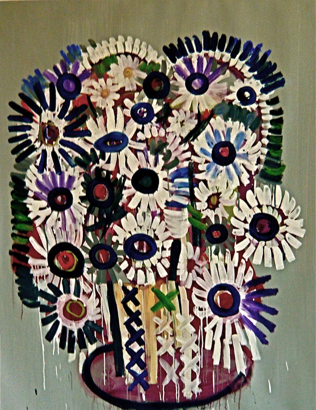 Untitled (Flowers in vase),  Gerben Mulder