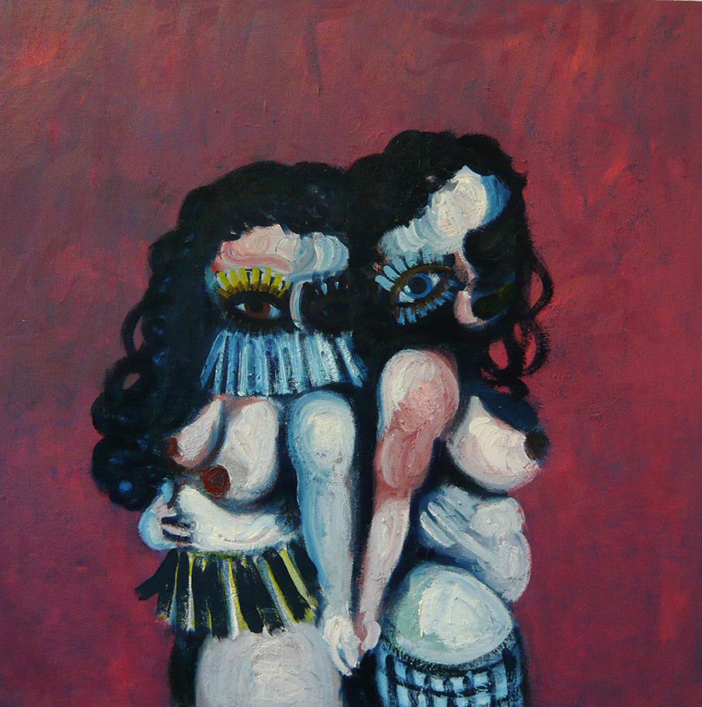 two sisters, 2009 Gerben Mulder
