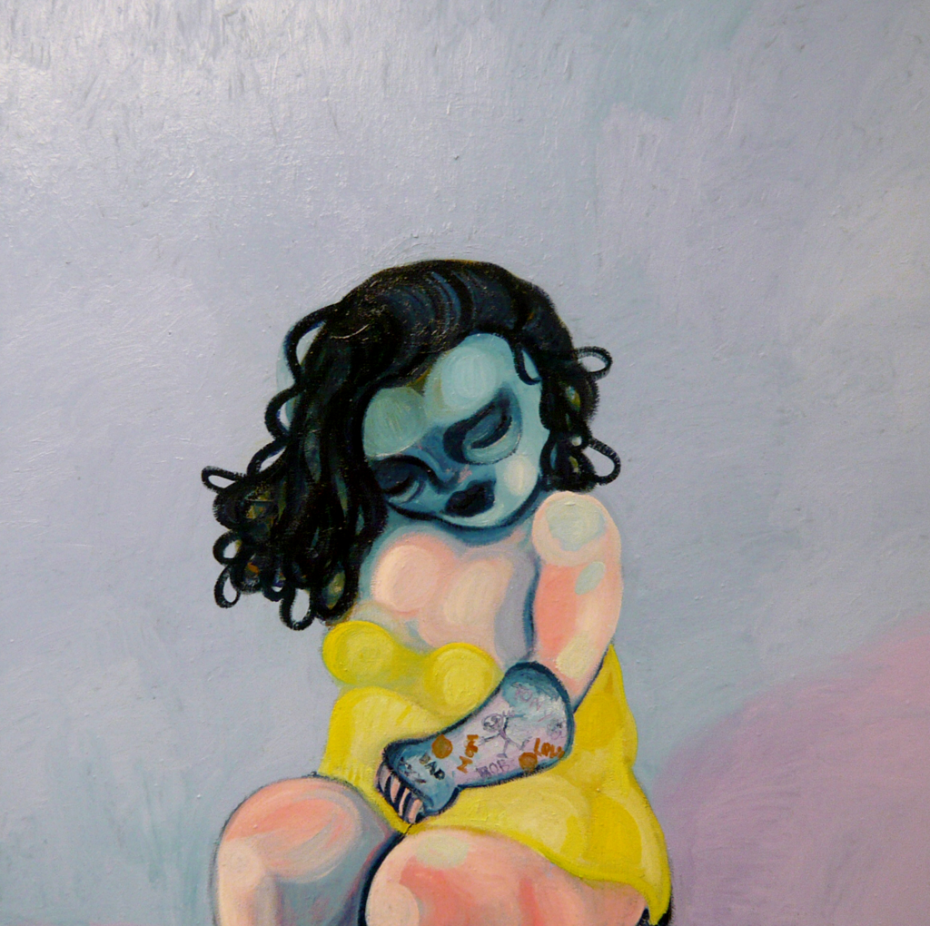 girl with cast 2008 Gerben Mulder