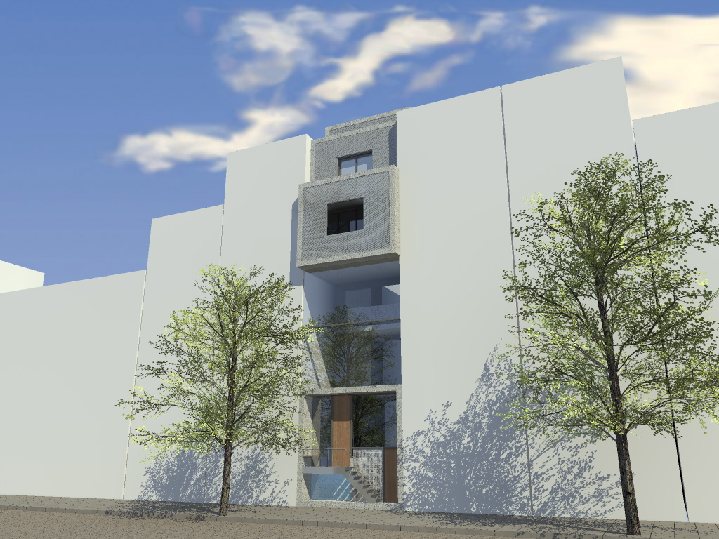 Groot stedelijk huis Rotterdam Studio Rik Tuithof