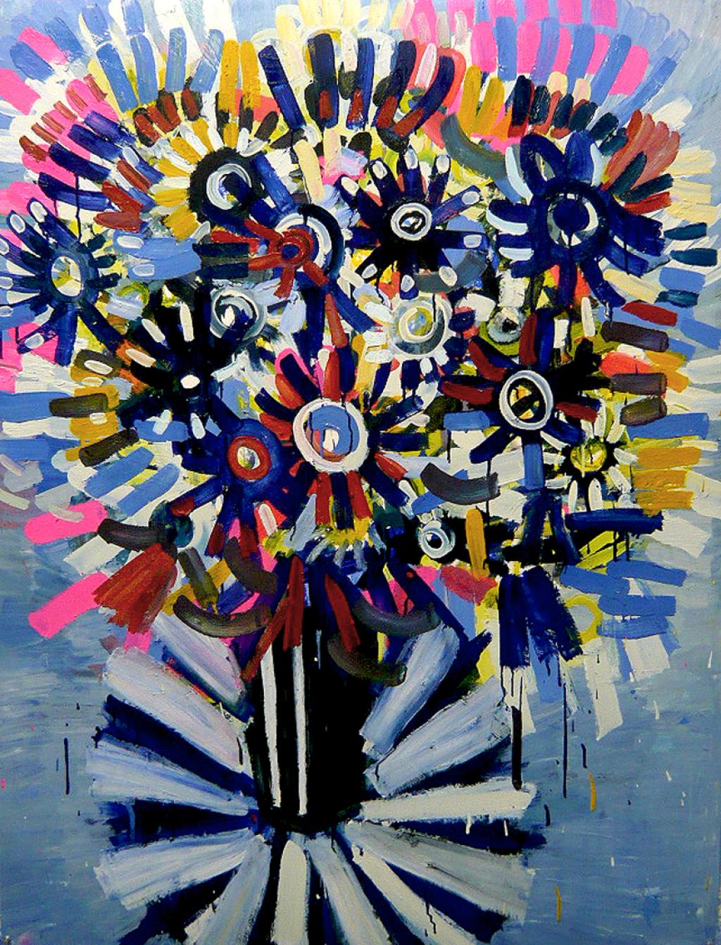 Blue Flowers Gerben Mulder