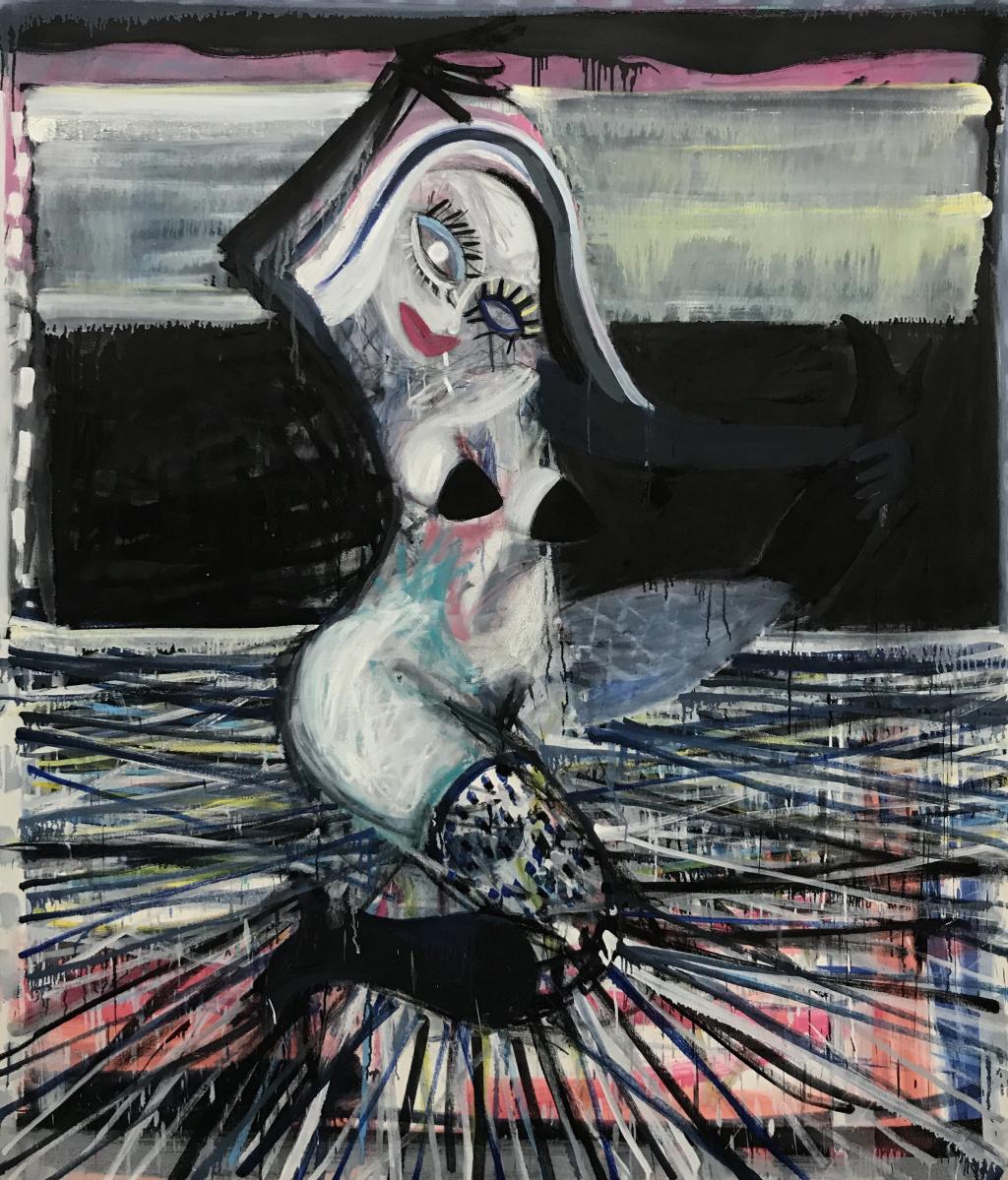 woman pulling her leg Gerben Mulder