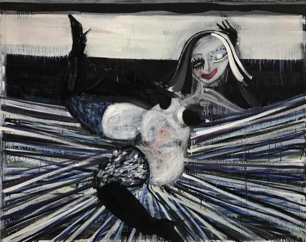 Woman striking a pose Gerben Mulder