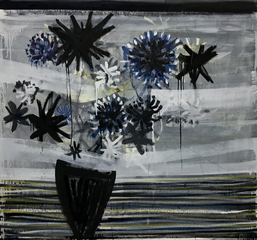 Flowers in vase Gerben Mulder
