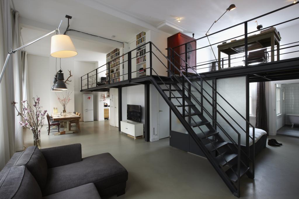 Appartement aan Noordermarkt in Amsterdam Studio Rik Tuithof