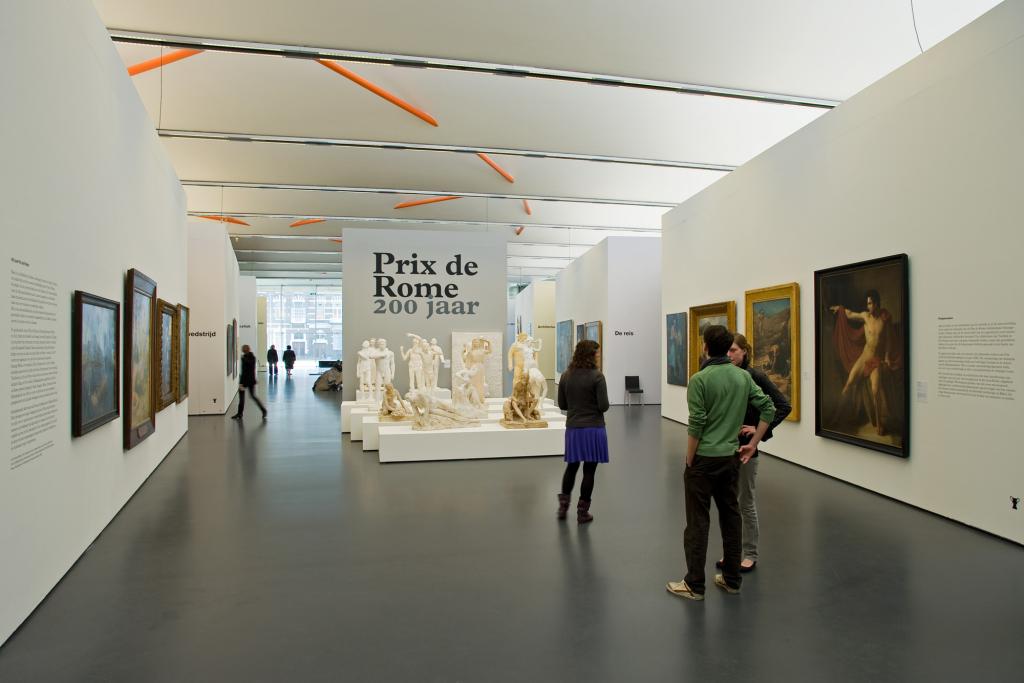 Prix de Rome in de Kunsthal Studio Rik Tuithof